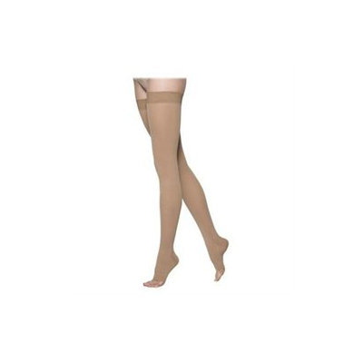 Sigvaris 863NS4O66 860 Select Comfort Series 3040 mmHg Open Toe Unisex Thigh Highs 863N Size S4