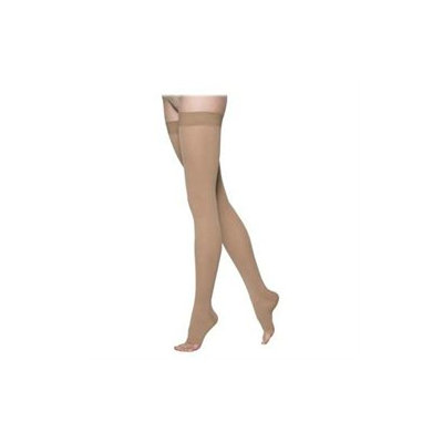 Sigvaris 862NM3O66 860 Select Comfort Series 2030 mmHg Open Toe Unisex Thigh Highs 862N Size M3