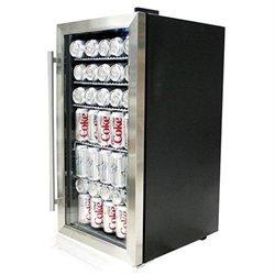 Whynter BR-125SD Beverage Refrigerator Stainless Steel