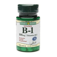 Nature's Bounty Vitamin B-1