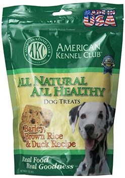Cherrybrook AKC All Natural All Health Treats 12oz Duck Barley and Brown Rice