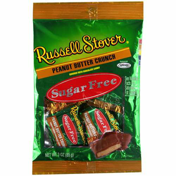 Russell Stover : Sugar Free Peanut Butter Crunch