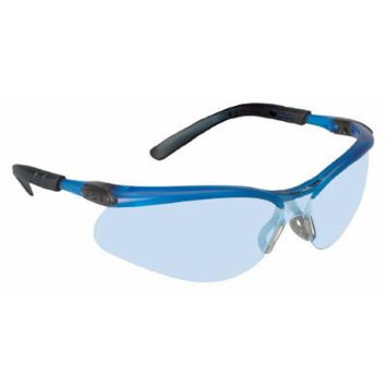 3M BX Protective Eyewear, 11523-00000-20 Light Blue Anti-Fog Lens, Ocean Blue Frame (Pack of 20)
