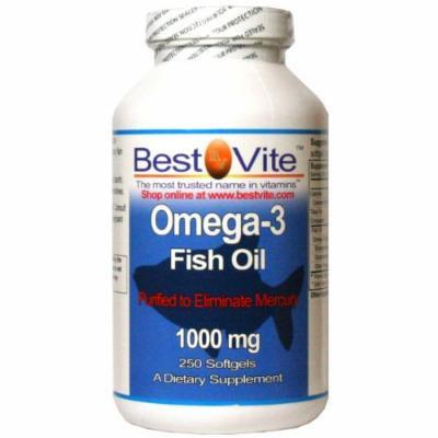Omega 3 1000mg (250 Softgels)