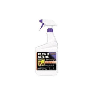 Bonide Herbicides Pesticides Flea & Roach Spray Rtu Gallon