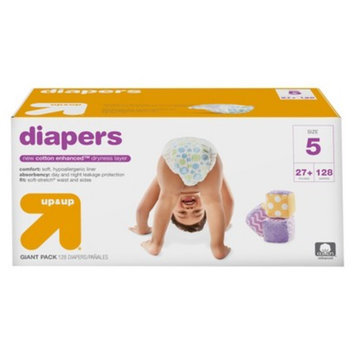 up & up Diapers Giant Pack - Size 5 (128 Count)