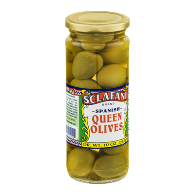 Sclafani Queen Olives Spanish