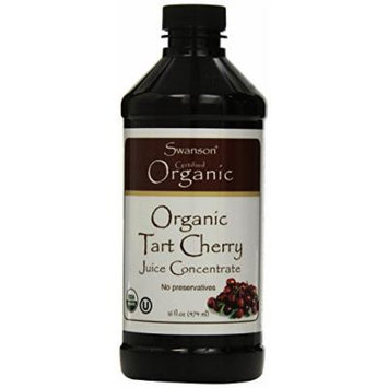Swanson Organic Tart Cherry Juice Concentrate 16 fl oz (473 ml) Liquid