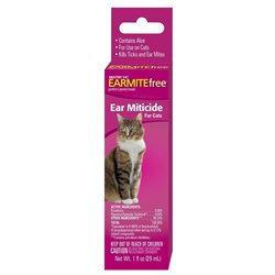 Oz Cat Ear Miticide 02103 by Sergeant's Pet