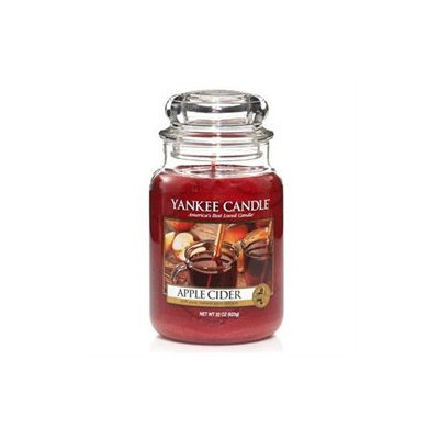 Yankee Candle Apple Cider 22 Ounce #YANK-22-APPLECIDER - Holiday Yankee Jar Candles