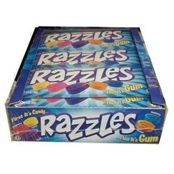 Concord Confections Original Razzles Candy 24 Count Box