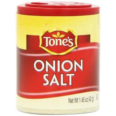 Tone's Mini's Onion Salt, 1.45 Ounce (Pack of 6)