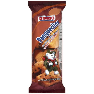 Sweet Baked Goods Bimbo Mini Pound Cakes With Chocolate Flavored Chips, 4.59 oz