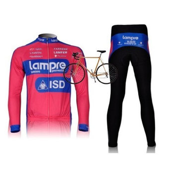 2012 Lampre team harness long-sleeved cycling clothing / bike clothing breathable perspiration
