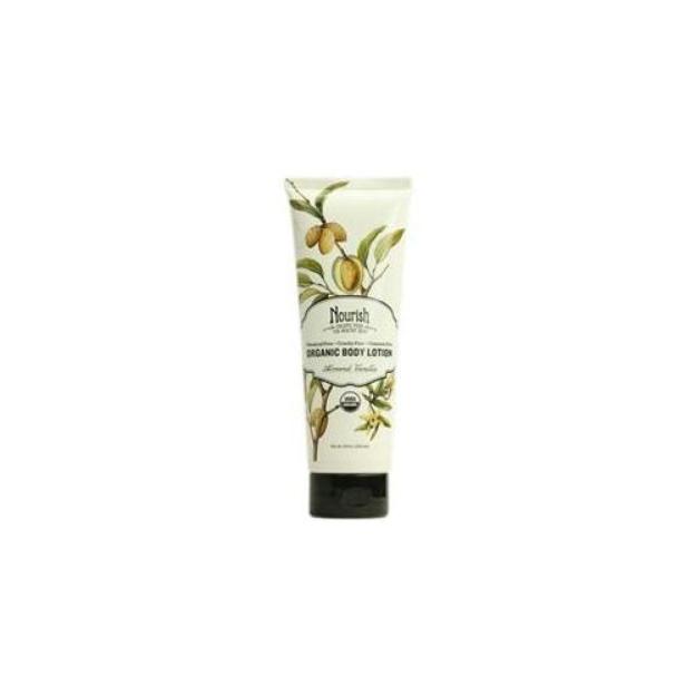 Nourish Organic Body Lotion - Almond Vanilla (8 oz)