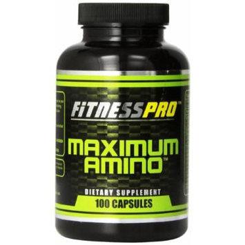 Fitness Pro Lab Maximum Amino Capsulessules, 100-Count (Pack of 2)