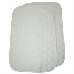American Baby Company Quilted Lap & Burp Pads