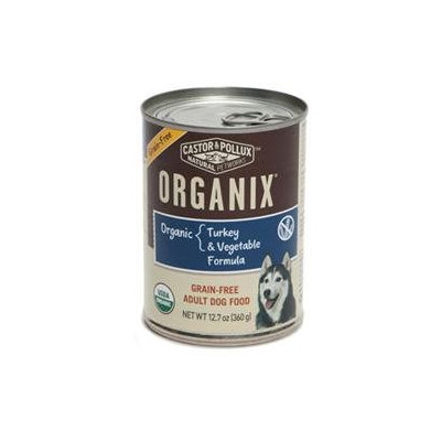 Best Friend Products Corp Organix GF Can Dog Food 12 Pack Turkey/Vegetable