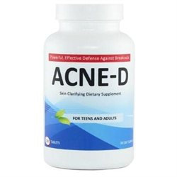 Acne-d Skin Clarifying Dietary Supplement Pills (120 Tablets)