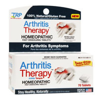 The Relief Products Arthritis Therapy Homeopathic Fast Dissolving Tablets, 70 ea