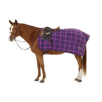 Centaur Fleece Exercise Sheet Horse Orchid Plaid
