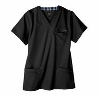 Iguana Med 7400 Men's 6-Pocket MedFlex II Top in Eclipse Black