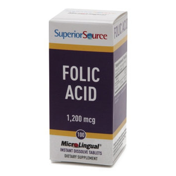 Superior Source Folic Acid 1200mcg - Extra Strength