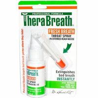 TheraBreath Fresh Breath Throat Spray with Oxygen
