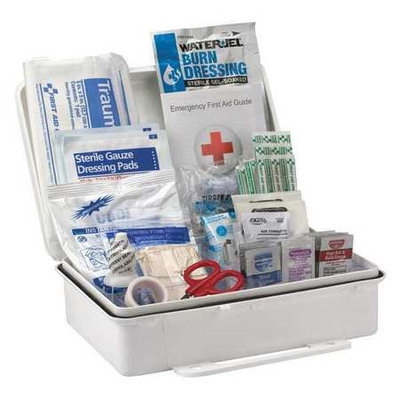 First Aid Only First Aid Kit,2-3/8 in.W x 2-3/8in.D Model: 54775