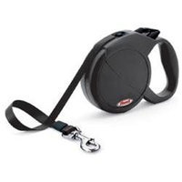 Flexi Durabelt Retractable Dog Leash in Black, Medium