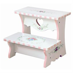 Teamson Design Corp Teamson Kids Bouquet Step Stool - Pink