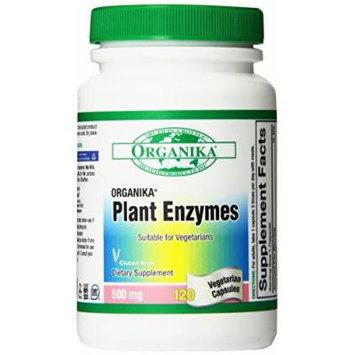 Organika Full Spectrum Plant Enzymes, 500 mg Vegetarian Capsules 120-Count