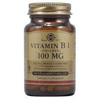 Solgar - Vitamin B1 Thiamin 100 mg. - 100 Vegetarian Capsules