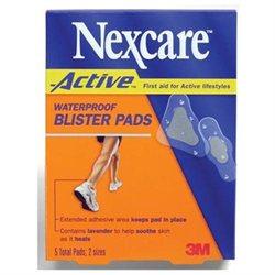 Nexcare Active Waterproof Blister Pads - 5 Ea