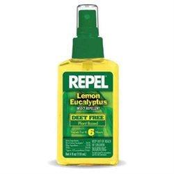 Repel Lemon Eucalyptus Insect Repellent Pump 4 Oz