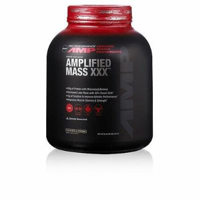 GNC Pro Performance Amp Amplified Mass XXX - Cookies & Cream 6lb