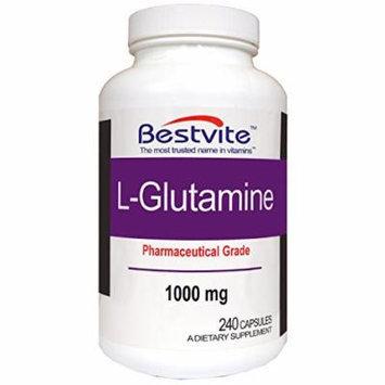 L-Glutamine 1000mg Free Form (240 Capsules)