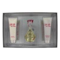 CAN CAN for Women 3 Piece set: 3.4 oz Eau de Parfum Spray + 3.0 oz Body Lotion + 3.0 oz Bath & Shower Gel by Paris Hilton Entertainment