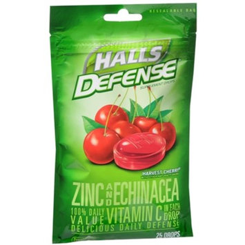 HALLS Defense Harvest Cherry Drops