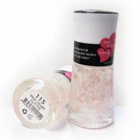 Nabi Nail Polish Pink Heart Glitter 115 - 15mL