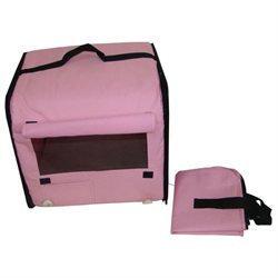 Bestpet Dog Cat Pet Bed House Soft Carrier Crate Cage w/Case LP