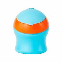 Boon SWIG Spout Top Short, Blue/Orange, 1 ea