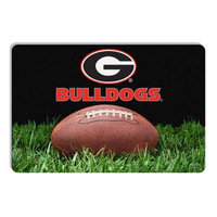 Gamewear Georgia Bulldogs Classic Football Pet Bowl Mat Mat