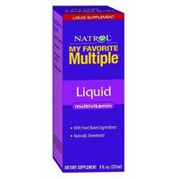Natrol Multi-Vitamin, Liquid, 8 Fluid Ounce (237 ml)