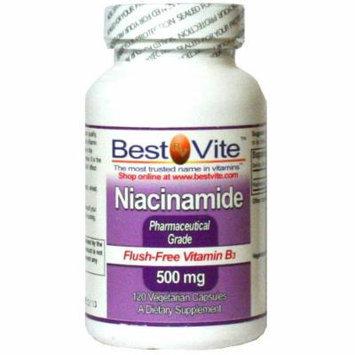 Niacinamide 500mg (120 Vegetarian Capsules)