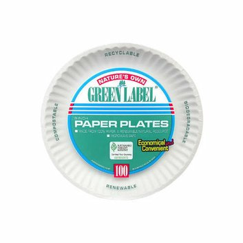 AJM Packaging Corporation Paper Plate