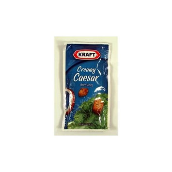 Kraft Foods Kraft Creamy Caesar Dressing, 2-Ounce Pouches (Pack of 60)