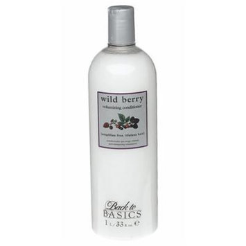 Back to Basics Wildberry Volumizing Conditioner 33 Ounces