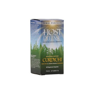 Fungi Perfecti Host Defense CordyChi - 60 Vegetarian Capsules