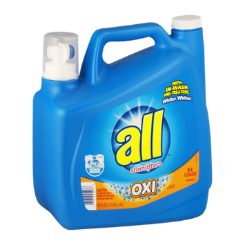 All Detergent With Stainlifters OXI